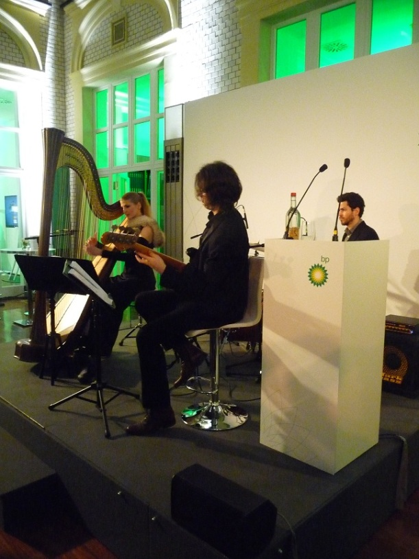 THE DEJA NOVA TRIO beim BP Neujahrsempfang, photo by Thomas