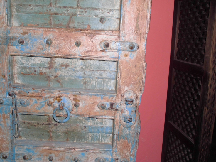 Detail einer Tür