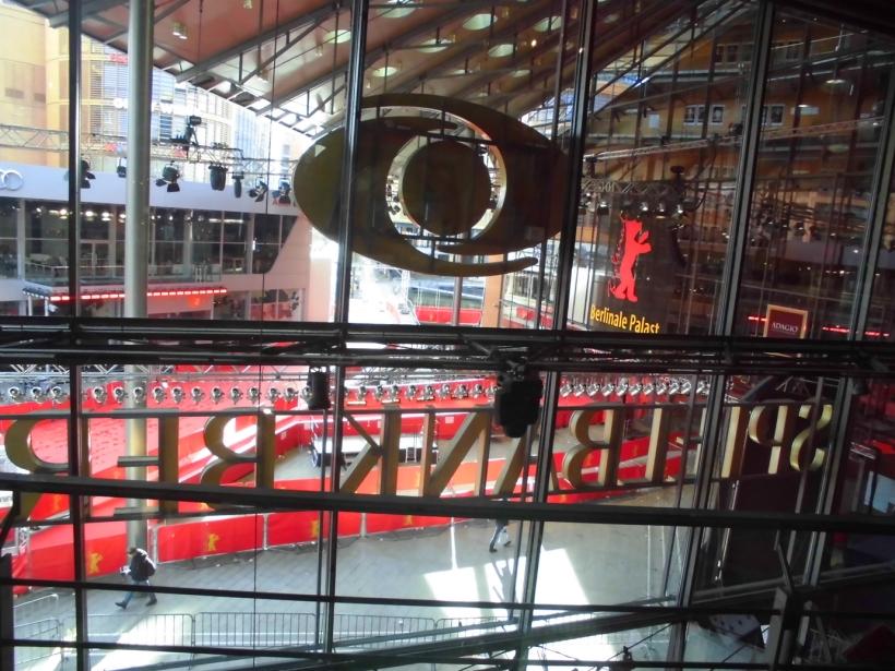 "Blick vom ""Sternberg"" zum Berlinale Palast am Potsdamer Platz"