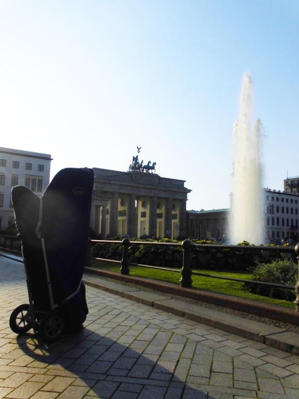 Hauptstadt-Harfe vorm Axica