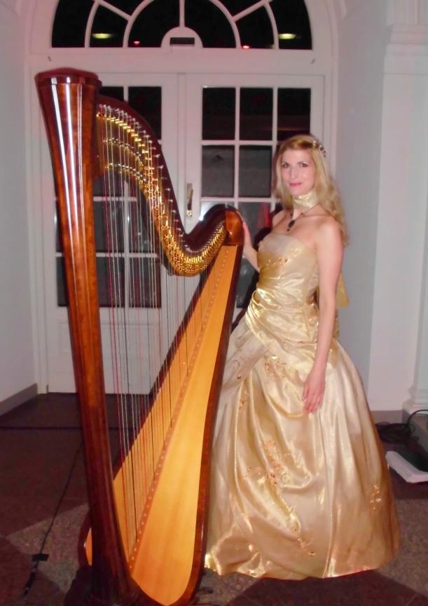 Hauptstadt-Harfe im Schoß Charlottenburg/Orangerie