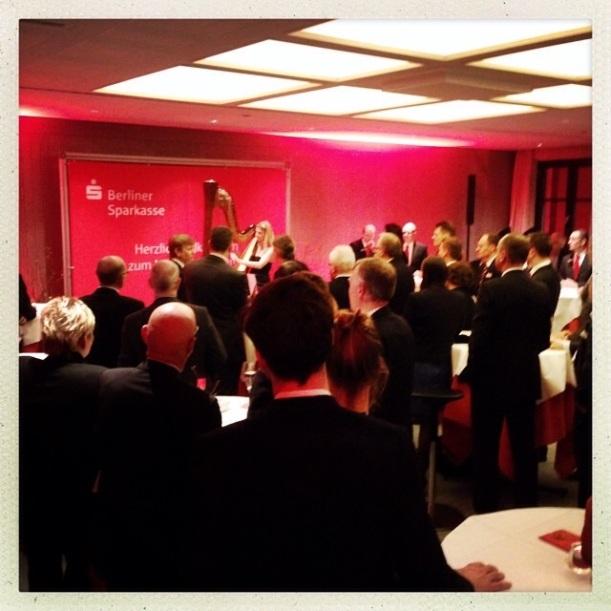 Harfenistin Simonetta im Max Liebermann Haus- Fotos by Katja Mentzel, danke!!!