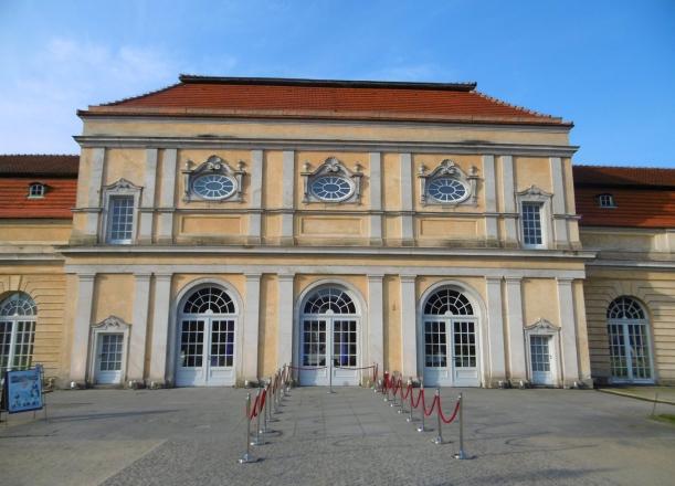 Orangerie Schloß Charlottenburg in Erwartung der Gäste