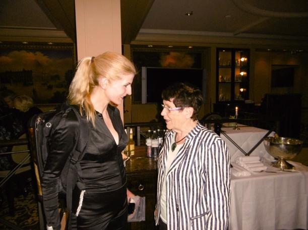 Meet&Greet mit Prof.Dr. Rita Süßmuth, danke an Frau Dinse für das Foto!