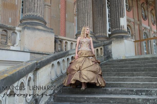 Harfe auf Schloss Sanssouci- Foto by Marcus Lienhardt, Danke!