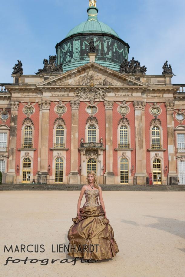 Harfe auf Schloss Sanssouci- Foto by Marcus Lienhardt, Danke! Kette by wonderful www.kupferkatze.de