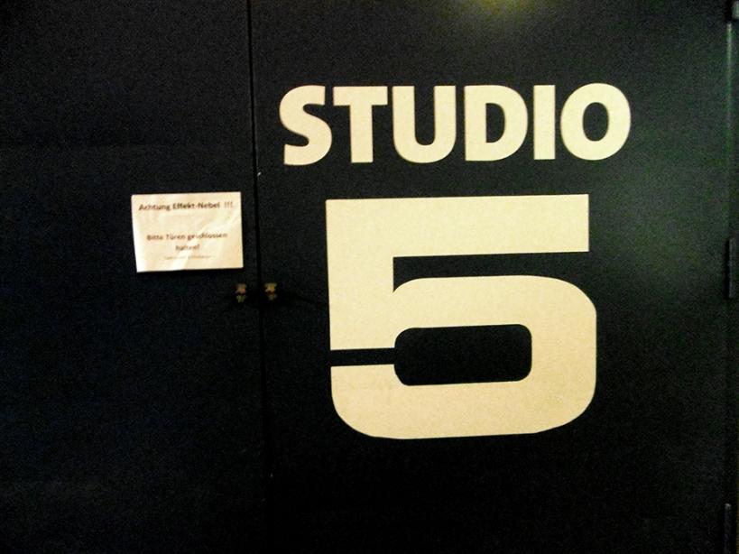 Achtung, Effekt-Nebel im Studio 5 :-) !