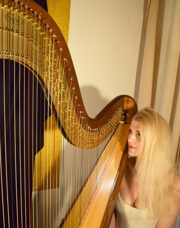 Harfenistin in Berlin- harpist in Berlin - harp in Berlin