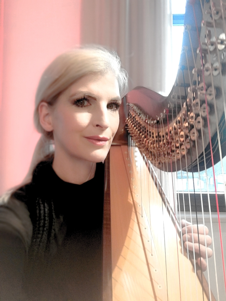 harp music from Berlin by Simonetta